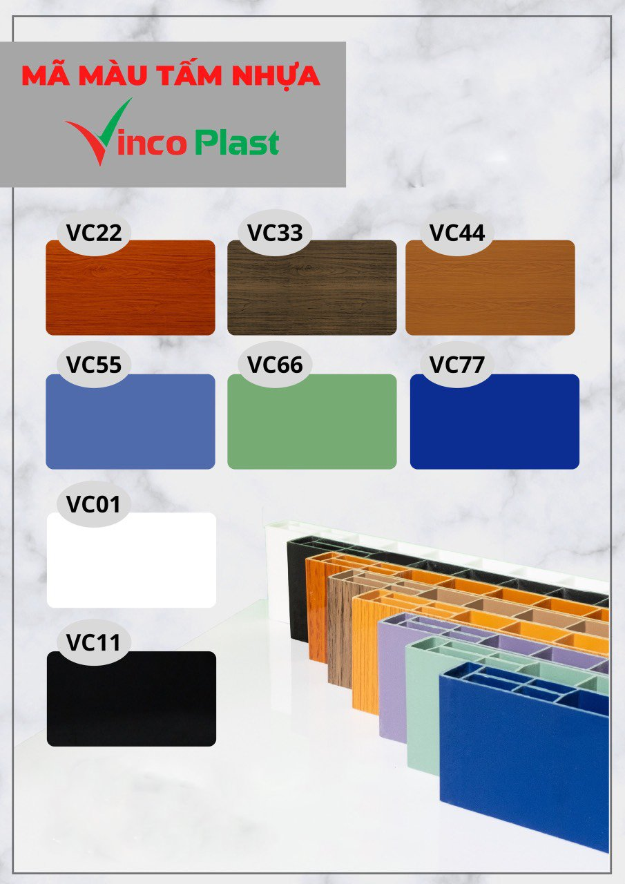 Mã màu nhựa Vincoplast